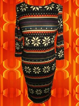 kultklamotte.info - Vintage Norweger Muster Kleid ...
