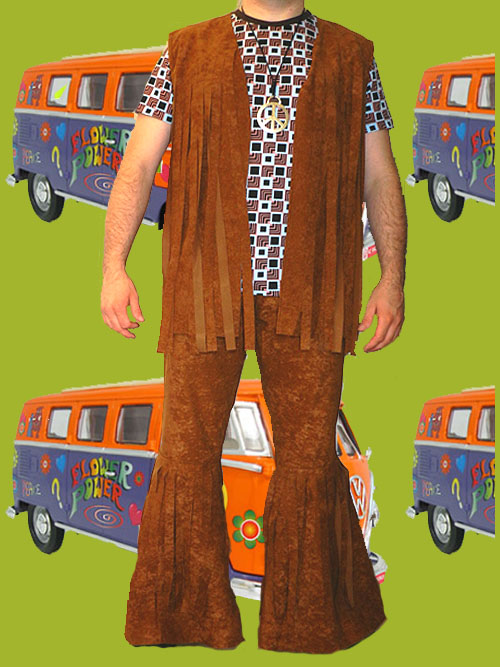 Kultklamotte Info 37 Hippie Woodstock Herren Fransenweste 70er