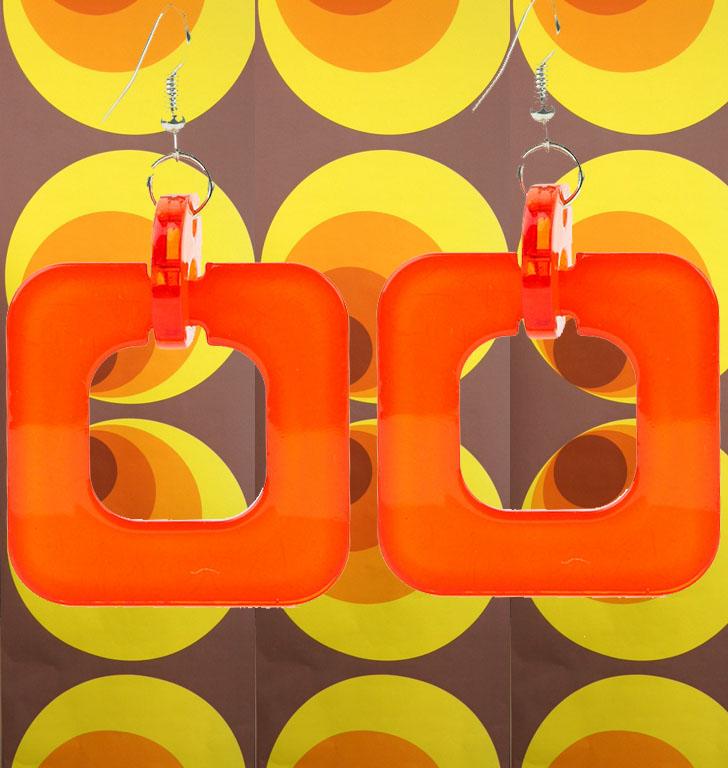 a306o 60er 70er jahre hippie ohrringe. Black Bedroom Furniture Sets. Home Design Ideas
