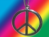 70er Jahre Kult Hippie Kette Peace Flower-Power Love